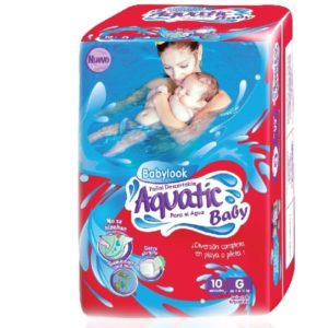 Babylook Aquatic Baby Gde 12x10u