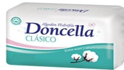 Doncella Algodon Hidrofilo Clasico 10 Paq. X 300 Grs