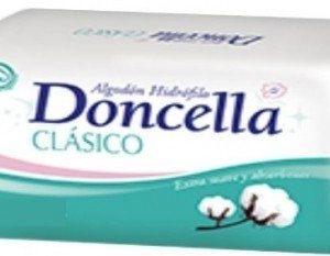 Doncella Algodon Hidrofilo Clasico 10 Paq. X 500 Grs