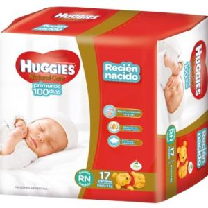 Huggies Natural Care Recien Nacido 14x17