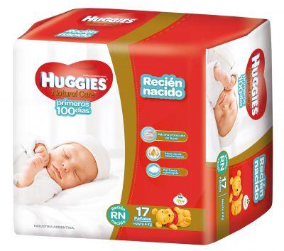 Huggies Natural Care Recien Nacido 14x17