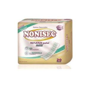 Nonisec Refuerza Pañal Maxi 6 Paq. X 20 Unid. (absorbe 650