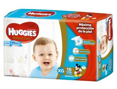 Pañ Hug Natcare Xg Mega 10x18 Ellos