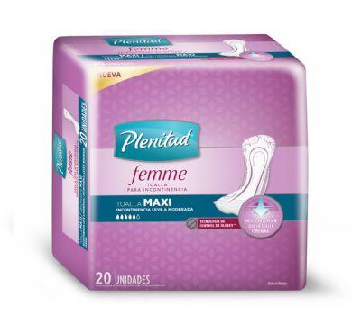 Toalla Plenitud Femme S/a Maxi 6x20