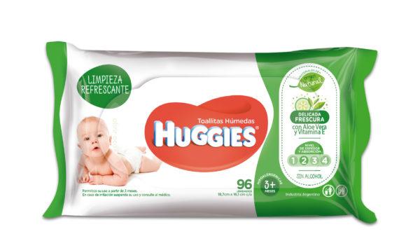 Toa Hum Huggies Limpieza Humectante 12x96