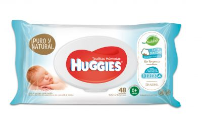 Toa Hum Huggies Puro Y Natural 18x48