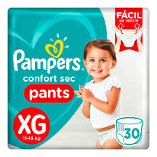 80316024 Pampers Pants Cs Xgde 30padsx4 N