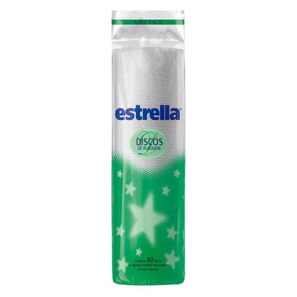 Estrella Discos Algodon 12x80