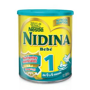 Nidina 1 Formula Infantil 800 Grs. N1 Xi