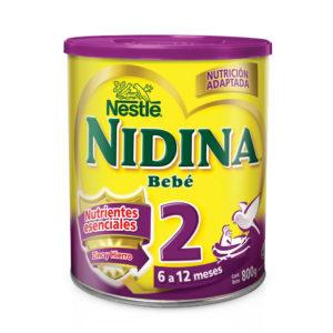 Nidina 2 Formula Infantil 800 Grs. N1