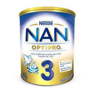Nan 3 Optipro Formula Infantil 800 Grs.