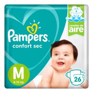 80295128 Pampers Confort Sec Pod Med 26padsx06