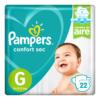 80295129 Pampers Confort Sec Pod Gde 22padsx08