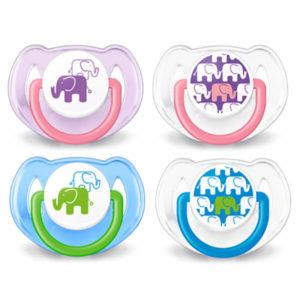 Scf 195/30 Chupetes Elefantes 6-18 Anatomicos