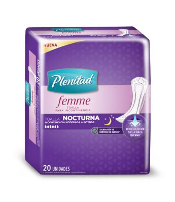 Toalla Plenitud Femme Nocturna S/a 6x20