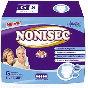 Nonisec Ropa Interior Gd 10x8