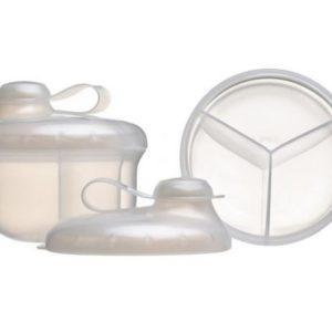 Dispenser Para Leche En Polvo 3 Compartimientos X1