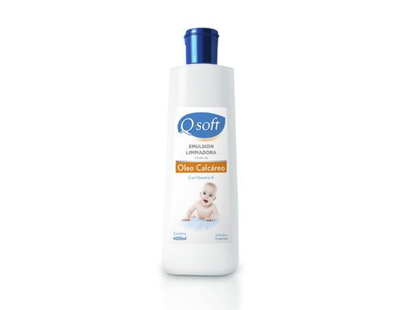 Q-soft Oleo Calcáreo X400ml Vit A
