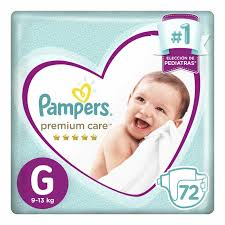 80316960 Pampers Premium Care Gde 72padsx02 N
