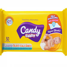 Toallitas Humedas Candy Oleo Calcareo Flow Pack 24x50u