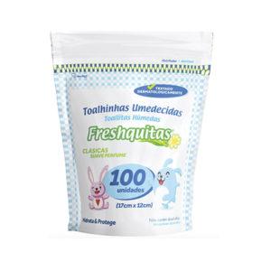 T. Humedas Freshquitas Clásicas 30x100u Doy Pack Blanca
