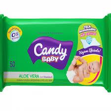 Toallitas Húmedas Candy Flow Aloe Vera X 50u