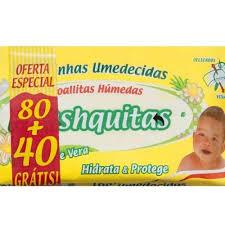 Toallitas Húmedas Freshquitas Flow Aloe Vera X 80+40u