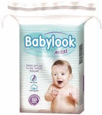 Paños Algodon Babylook Maxi 12x50u