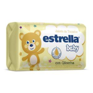 Estrella Baby Jabon De Tocador Con Glicerina