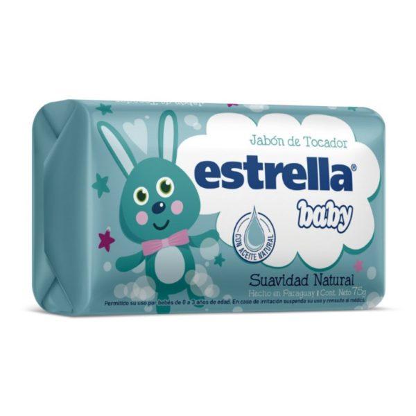 Estrella Baby Jabon De Tocador Suavidad Natural