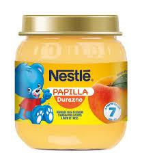 Nestle Papilla Durazno 24x113g