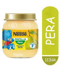 Nestle Papilla Pera 24x113g
