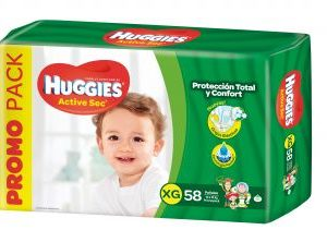 Pañ Hug Actsec Xg High Counts 2x58