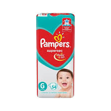 80316212 Pampers Supersec Gde 54padsx03 N