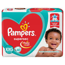80316214 Pampers Supersec Xxg 40padsx04 N