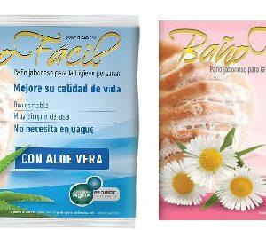 Baño Facil Mixta, Pack X 10, Caja X 20 (10 Manzanilla + 10 Aloe Vera) 1545/1547