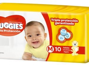 Pañal Huggies Triple Protec Mx10