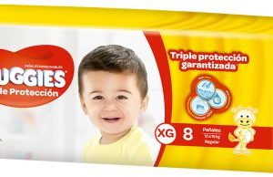 Pañal Huggies Triple Protec Xgx8