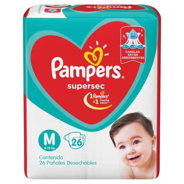 80316200 Pampers Supersec Med 26padsx08 N