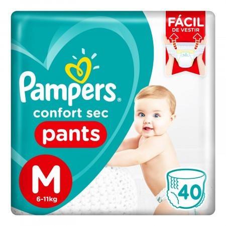 80316022 Pampers Pants Cs Med 40padsx2 N
