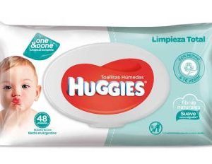 Toallas Húmedas Huggies Limpieza Total X48