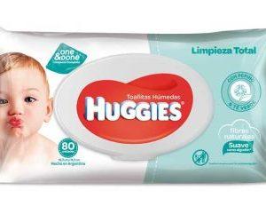 Toallas Húmedas Huggies Limpieza Total X80
