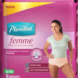 Ropa Interior Femme Pant G/xg X8
