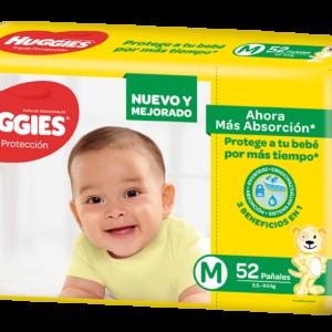 Huggies Triple Protección Med 6x52
