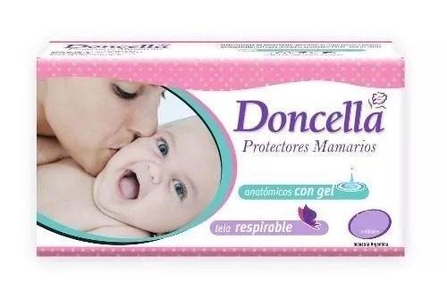 Doncella Protector Mamario Con Gel, Canales Y Tela Respirable 12 Cjs. X 24 Unid