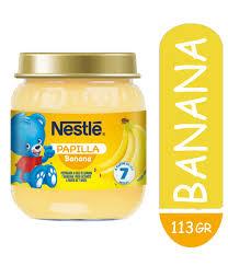 Nestle Papilla Banana 24x113g