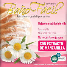Baño Facil Manzanilla, Pack X 10, Caja X 20
