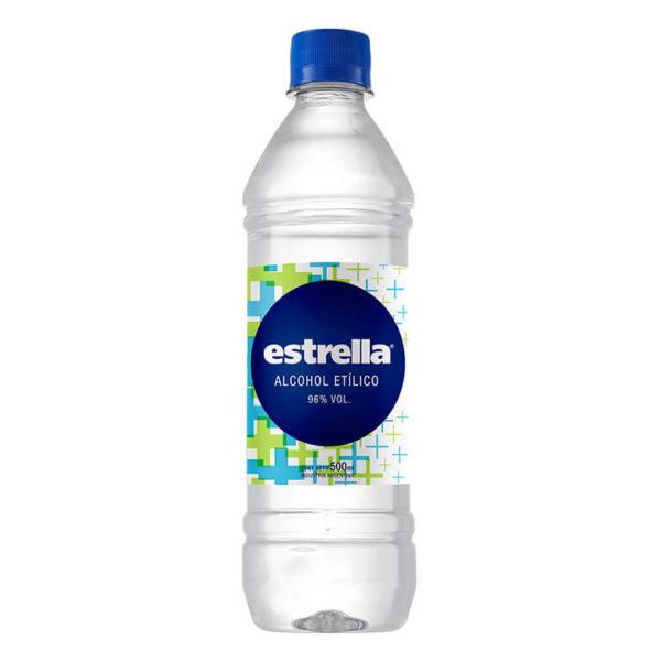 Estrella Alcohol Etilico 96 X500 Ml