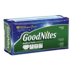 Youthpt Goodnites Gde 4x11 Unisex
