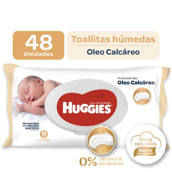 Toallas Humedas Huggies X48 Deluxe